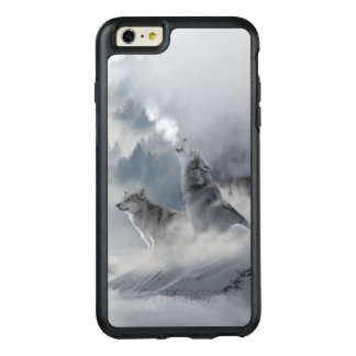 Snow Wolf Print OtterBox iPhone 6/6s Plus Case
