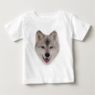 Snow Wolf Sketch Baby T-Shirt