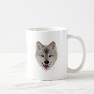 Snow Wolf Sketch Coffee Mug