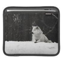 Snow Wolf Sleeve For iPads