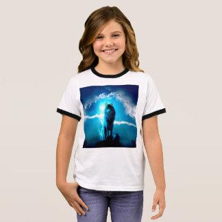 Snow wolf - thunder wolves - wild wolf ringer T-Shirt