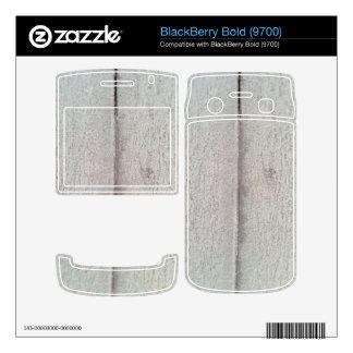 snow Wood Pattern BlackBerry Bold Skin
