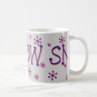 Snow Word Coffee Mug
