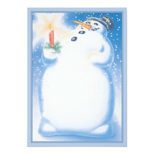 Snowball © card