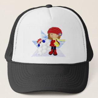 Snowball Diva Trucker Hat