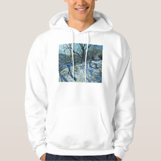 Snowball fight Derbyshire Hoodie