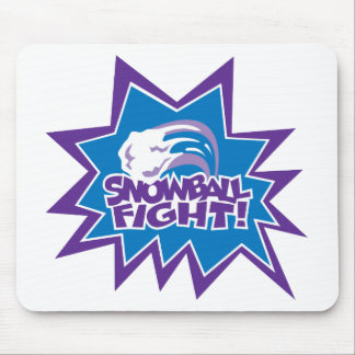 Snowball Fight! Mouse Pad