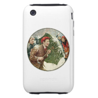 Snowball Fight Tough iPhone 3 Case