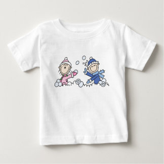 Snowball Fight Infant T-shirt
