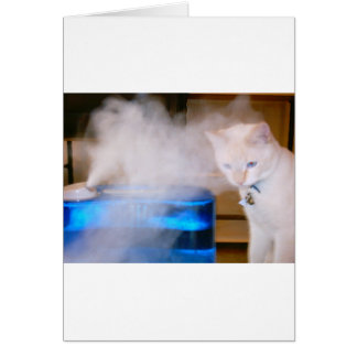 """Snowball in the Mist"" Card"