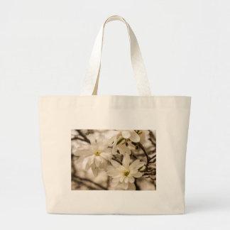 Snowball Magnolia Tote Bag