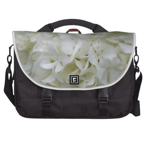 Snowball viburnum commuter bag