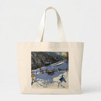 Snowballers Zermatt Large Tote Bag