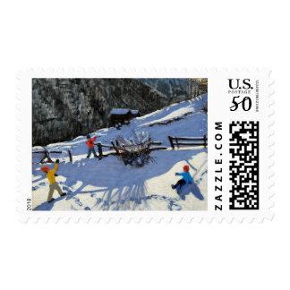 Snowballers Zermatt Postage