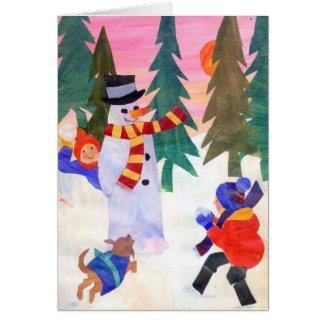 Snowballing card