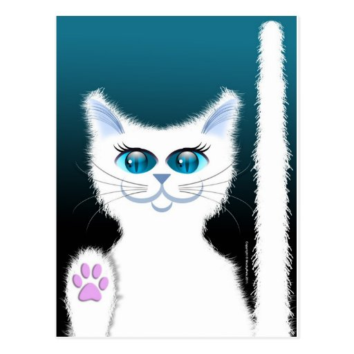 SNOWBELL THE CAT POST CARDS