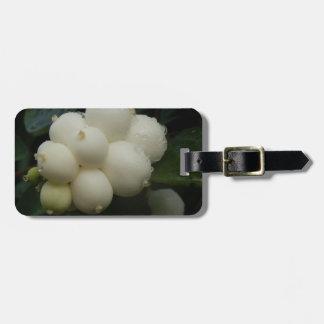 Snowberries Luggage Tag