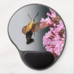 Snowberry Clearwing Gel Mouse Pad