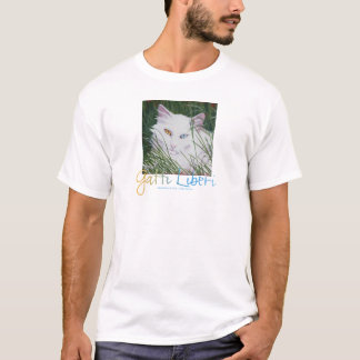 """Snowberry"" from the Gatti Liberi Collection T-Shirt"