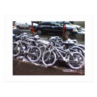 Snowbikes Post Card