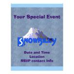 Snowbilly Flyer Personalizado