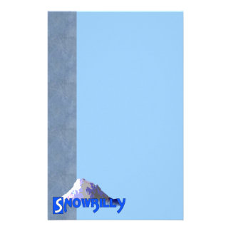 Snowbilly Personalized Stationery