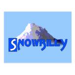 Snowbilly Tarjeta Postal