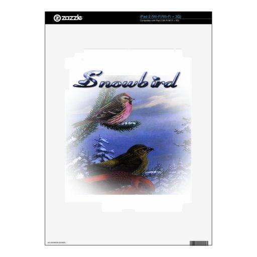 Snowbird blue skins for the iPad 2