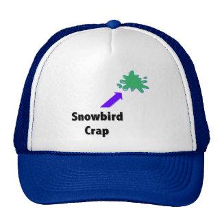 Snowbird Crap Trucker Hat