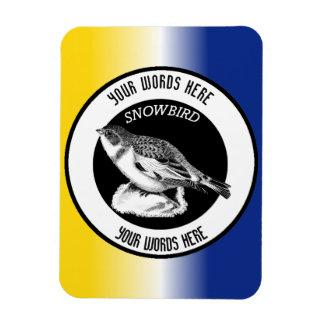 Snowbird Custom Photo Magnet