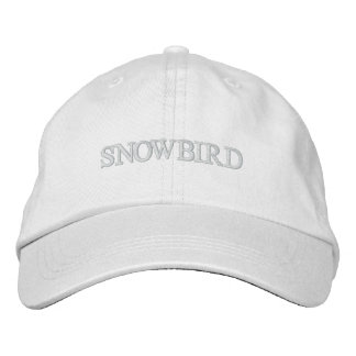 Snowbird Embroidered Hat