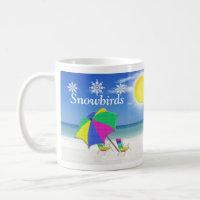 Snowbird Gifts, Beach Themed Mugs