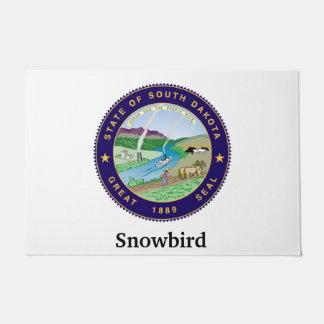 Snowbird Personalize Doormat
