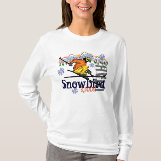 Snowbird Utah ski elevation hoodie