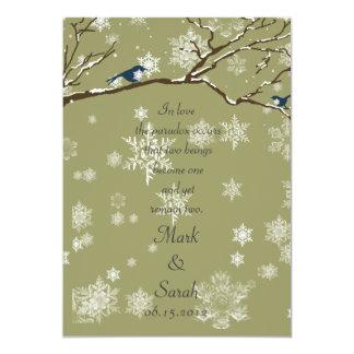 Snowbirds 2 Eucalyptus Invitation