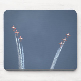 Snowbirds Beginning Heart Smoke Trail Mouse Pad