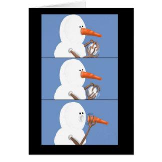 snowblower card