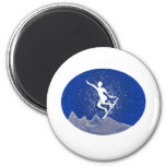 snowboard1basic refrigerator magnets