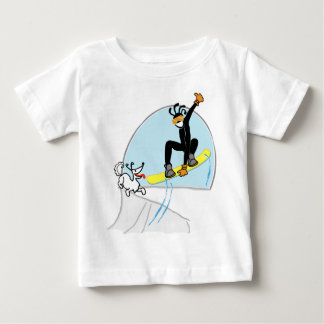 snowboard2000.png baby T-Shirt