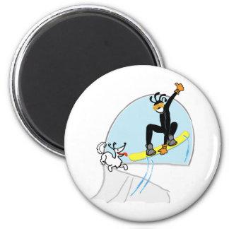 snowboard2000.png imán de nevera
