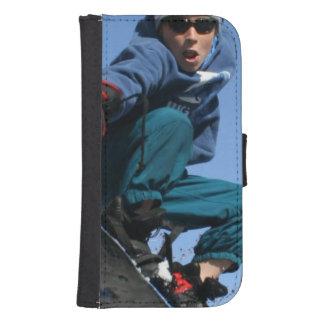 snowboard-25 cartera para teléfono