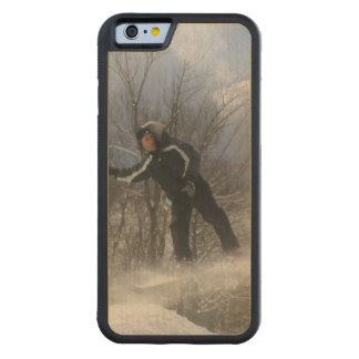 Snowboard 360 funda de iPhone 6 bumper arce