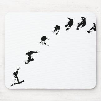 Snowboard 360 mousepad