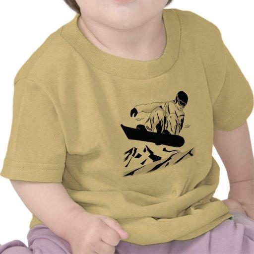 Snowboard 5 camiseta