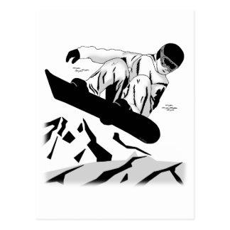 Snowboard 5 postales