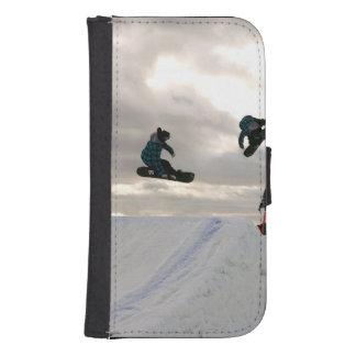snowboard-6 fundas cartera de galaxy s4