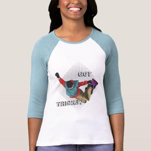 Snowboard 7 camisetas