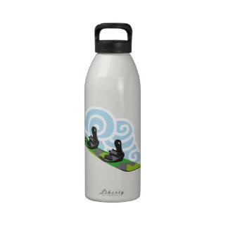 Snowboard Botallas De Agua