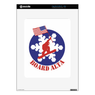 Snowboard Alta iPad Decal