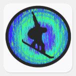 Snowboard Best Times Square Sticker